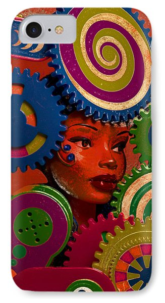 Thinking Cap IPhone Case by Jeff  Gettis