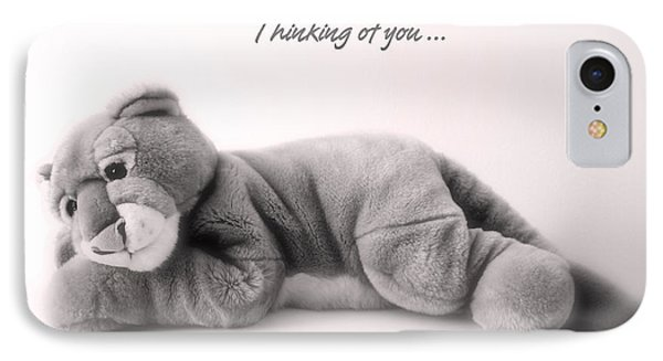 Thinking Of You IPhone Case by Gina Dsgn