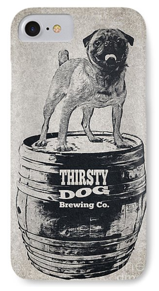 Thirsty Dog Brewing Co. Keg IPhone Case by Edward Fielding