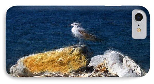 This Gull Has Flown IPhone Case by John Freidenberg