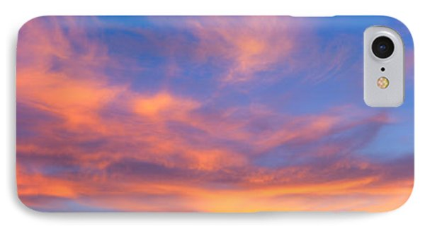This Is A Sunset Sky IPhone Case by Panoramic Images