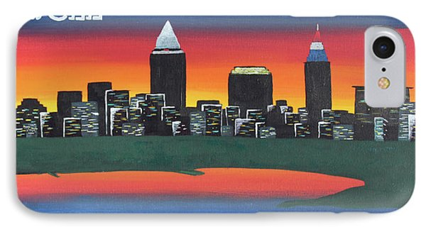 This Is Cle IPhone 7 Case by Cyrionna The Cyerial Artist