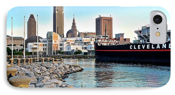 This Is Cleveland IPhone Case by Frozen in Time Fine Art Photography