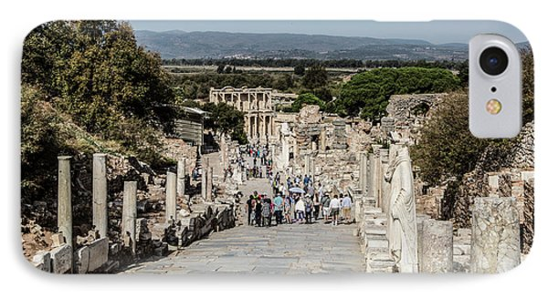 This Is Ephesus IPhone Case by Kathy McClure
