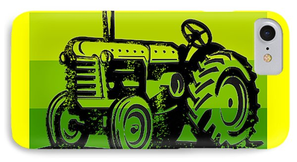 This Is How I Roll Tractor Tee IPhone Case by Edward Fielding