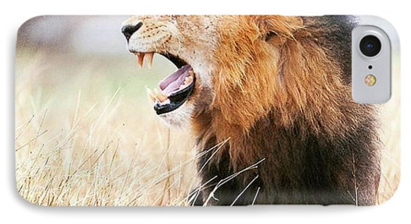 Lion iPhone 7 Case - This Is Power by Happy Home Artistry