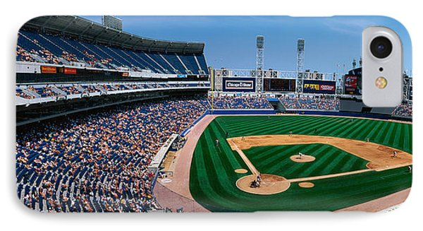 This Is The New Comiskey Park Stadium IPhone Case by Panoramic Images