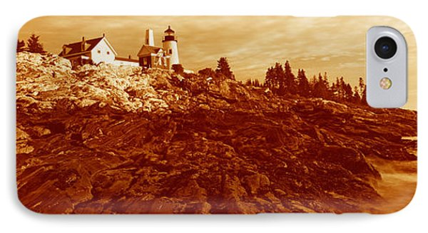 This Is The Pemaquid Point Lighthouse IPhone Case by Panoramic Images