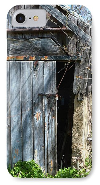 This Old Barn Door IPhone Case by Kathy Kelly