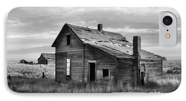 IPhone Case featuring the photograph This Old House by Jim Walls PhotoArtist