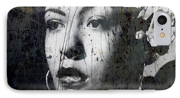Rhythm And Blues iPhone 7 Case - This Ole Devil Called Love  by Paul Lovering