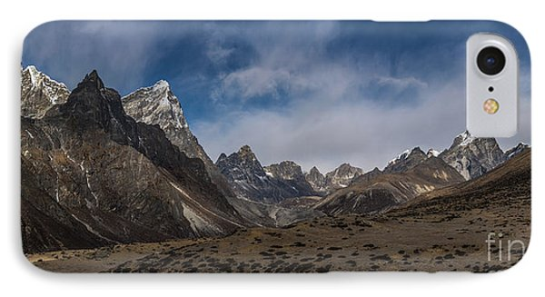 IPhone Case featuring the photograph Thokla Pass Nepal by Mike Reid
