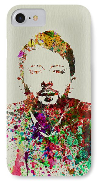 Thom Yorke IPhone Case by Naxart Studio