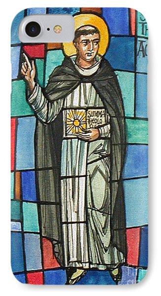 Thomas Aquinas Italian Philosopher Phone Case by Photo Researchers