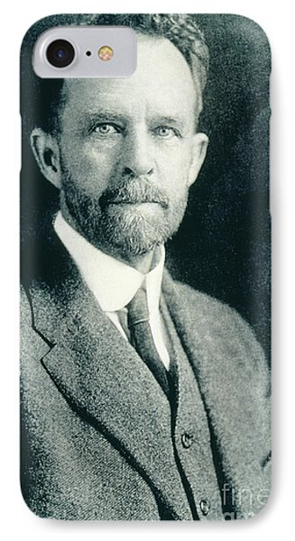 Thomas Hunt Morgan, American Geneticist Phone Case by Photo Researchers, Inc.