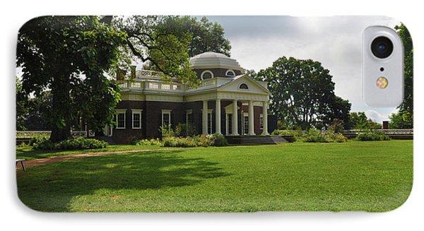 Thomas Jefferson's Monticello Phone Case by Bill Cannon