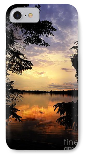 IPhone Case featuring the photograph Thomas Lake Sunset 2 by Larry Ricker