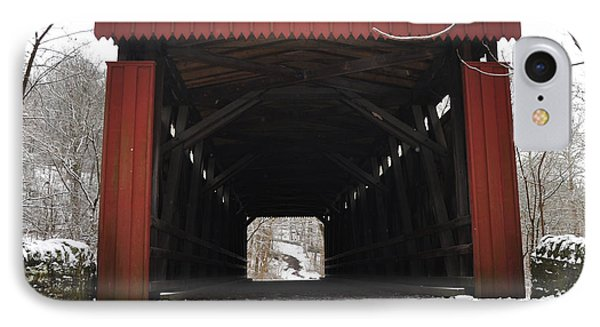 Thomas Mill Road Covered Bridge IPhone Case
