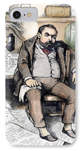 Thomas Nast (1840-1902) Phone Case by Granger
