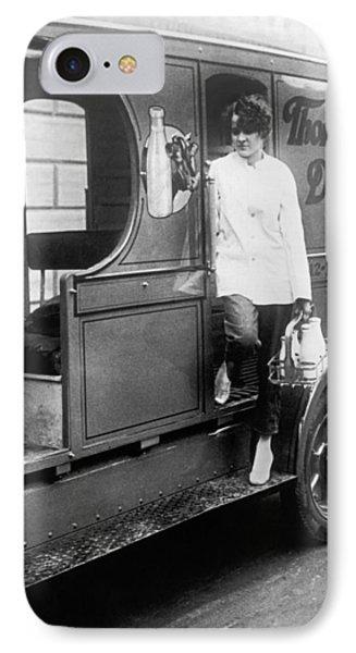 Thompson's Dairy Milkwoman IPhone Case