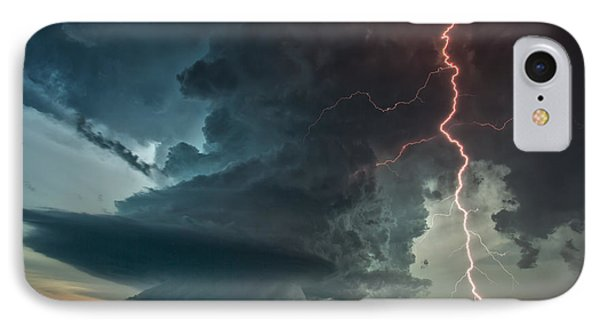 IPhone Case featuring the photograph Thor Speaks by James Menzies