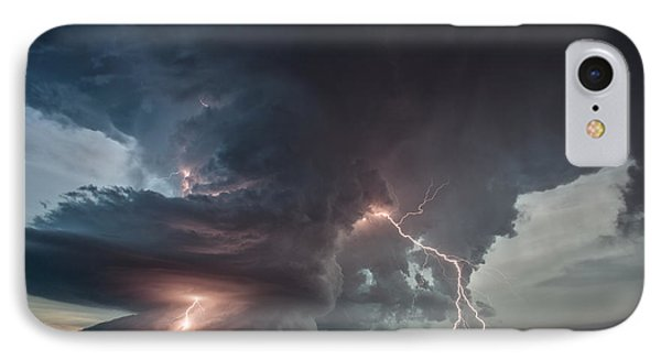 IPhone Case featuring the photograph Thor Strikes Again by James Menzies