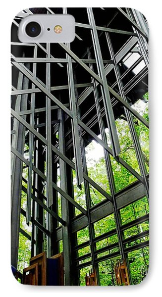 Thorncrown Chapel Arkansas Sanctuary Architecture IPhone Case
