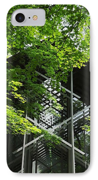 Thorncrown Chapel Door Ozarks Of Arkansas IPhone Case