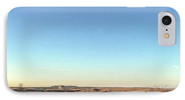 Thornham Marsh Lit By The Setting Sun IPhone Case