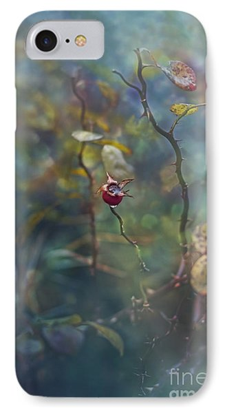 Thorns And Roses IPhone Case by Agnieszka Mlicka