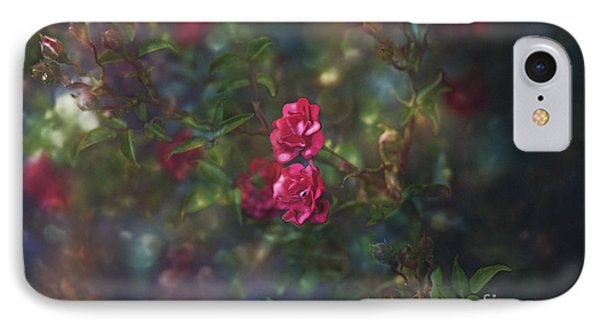Thorns And Roses II IPhone Case by Agnieszka Mlicka