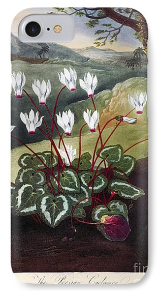 Thornton: Cyclamen IPhone Case by Granger