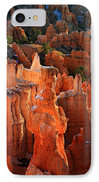 Thor's Hammer At Sunrise In Bryce Canyon Phone Case by Pierre Leclerc Photography