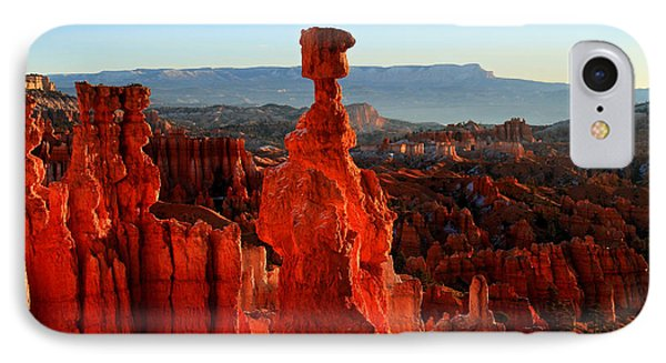 Thor's Hammer In Bryce Canyon At Sunrise Phone Case by Pierre Leclerc Photography