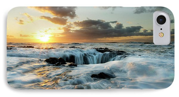 Thors Well Cape Perpetua 2 IPhone Case by Bob Christopher