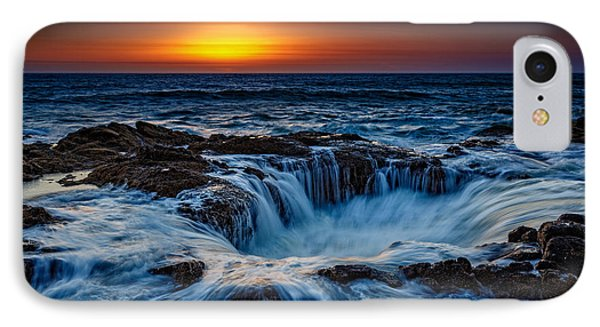 Thor's Well IPhone Case by Rick Berk