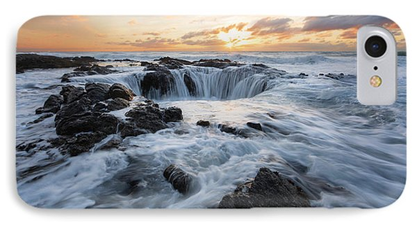 Thor's Well IPhone Case by Ryan McGinnis
