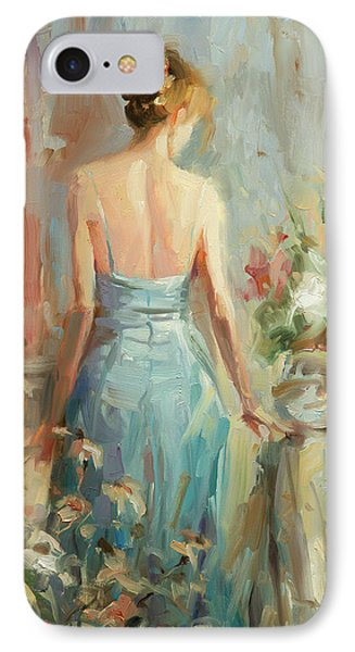 Impressionism iPhone 7 Case - Thoughtful by Steve Henderson