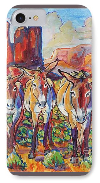 Three Amigos  IPhone Case by Jenn Cunningham