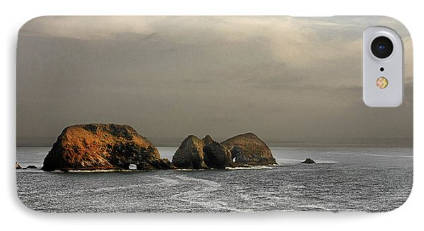 Three Arch Rocks - Oceanside Near Cape Meares - Oregon Phone Case by Christine Till