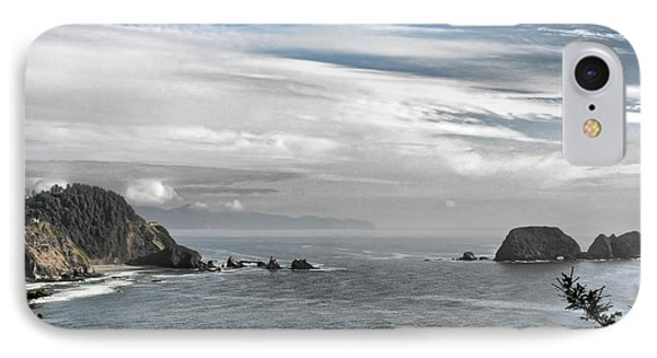 Three Arch Rocks National Wildlife Refuge Near Cape Meares Oregon Phone Case by Christine Till