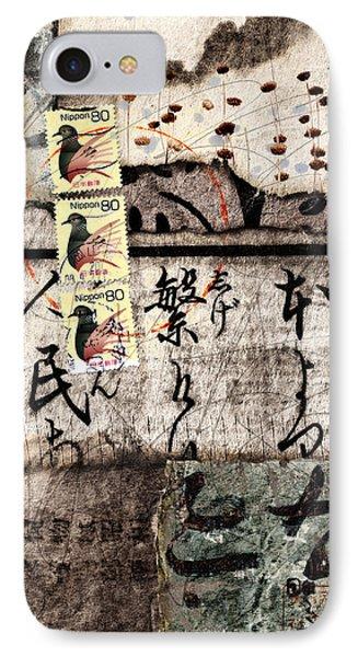 Three Bird Night Collage IPhone Case