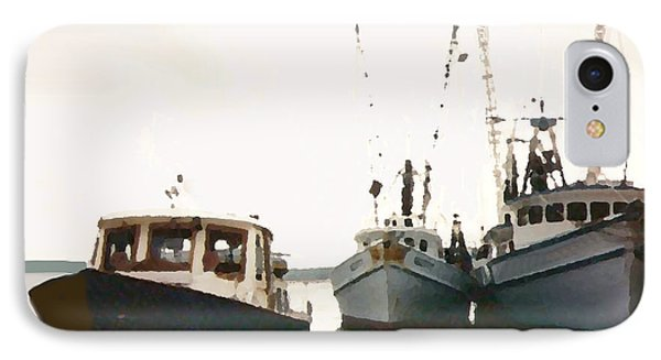 Three Boats IPhone Case