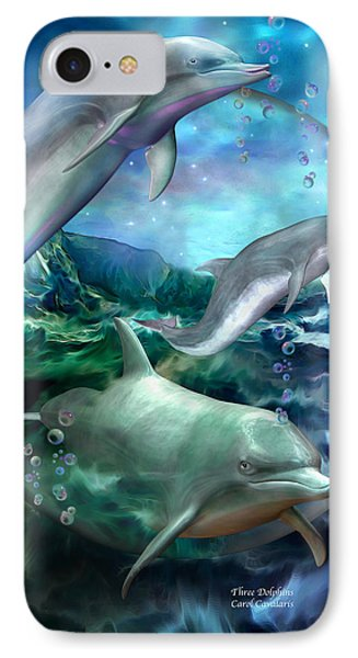 Three Dolphins IPhone 7 Case