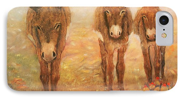 Three Donkeys IPhone Case