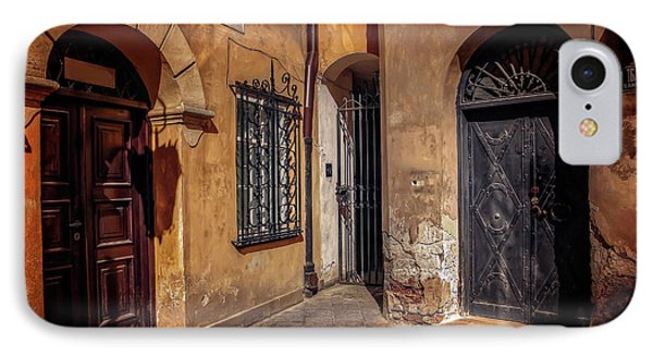 Three Doors In Warsaw IPhone Case