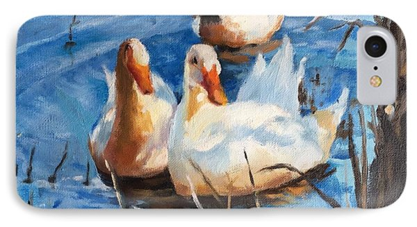 Three Ducks IPhone Case