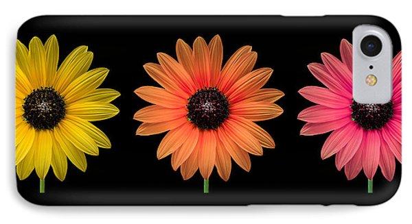 Three Flowers IPhone Case