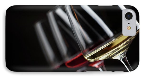 Three Glass Of Wine IPhone Case by Jelena Jovanovic