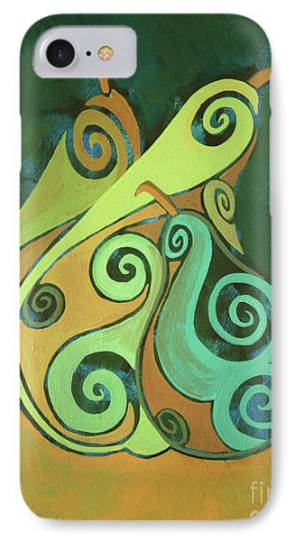 Three Groovy Little Pears IPhone Case